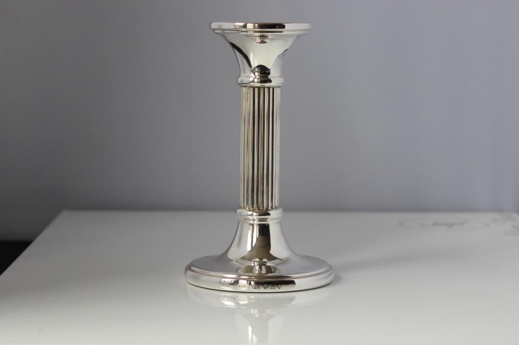 zilveren kandelaar 475