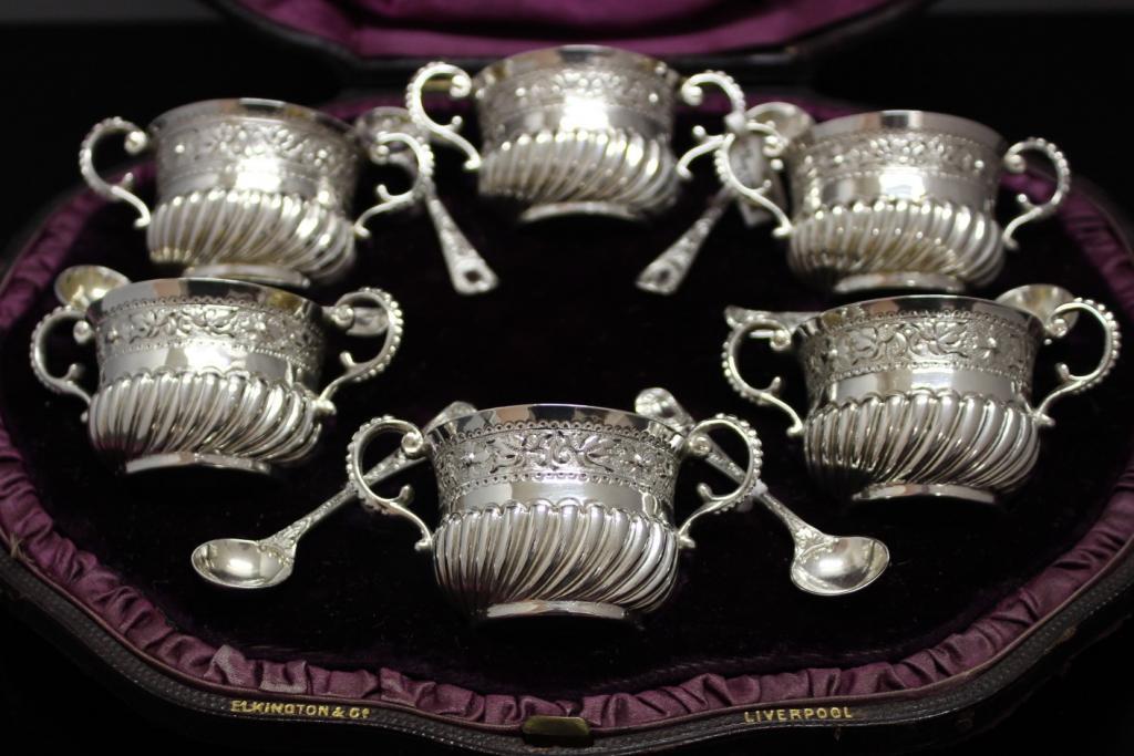 zilveren zoutstel london 1