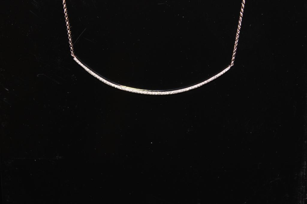 30249 witgoud briljant collier 2