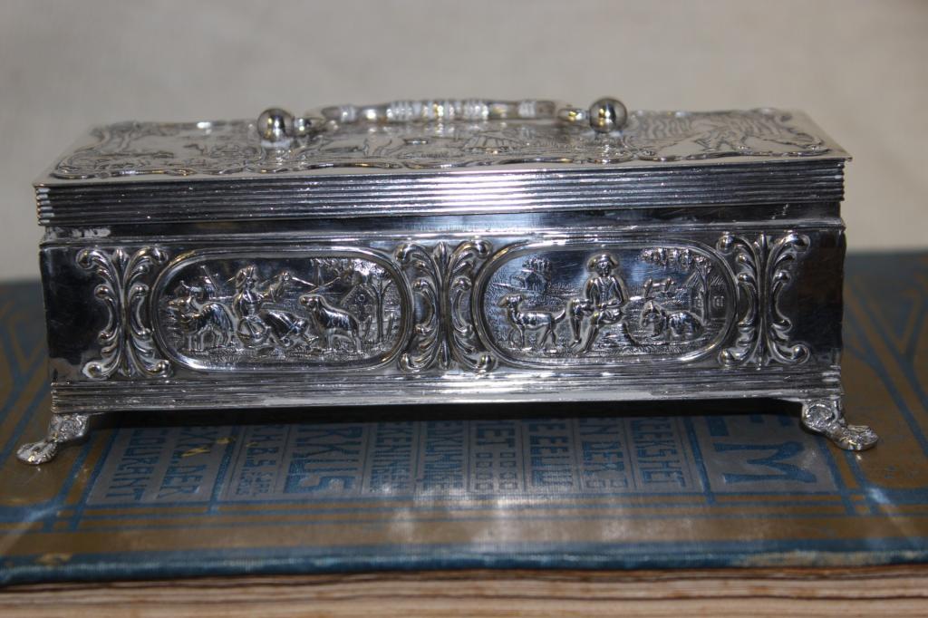 zilveren lepeldoosje oud hollands 1