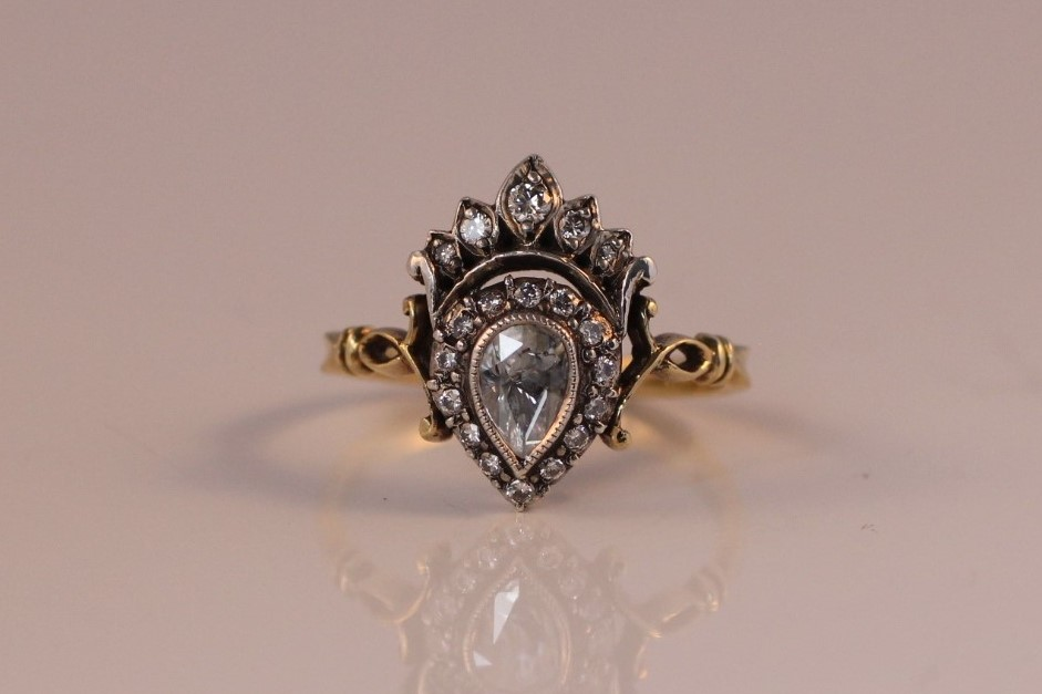 kroon ring roosdiamant