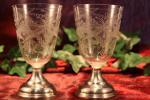 Kristallen wijnglazen 1